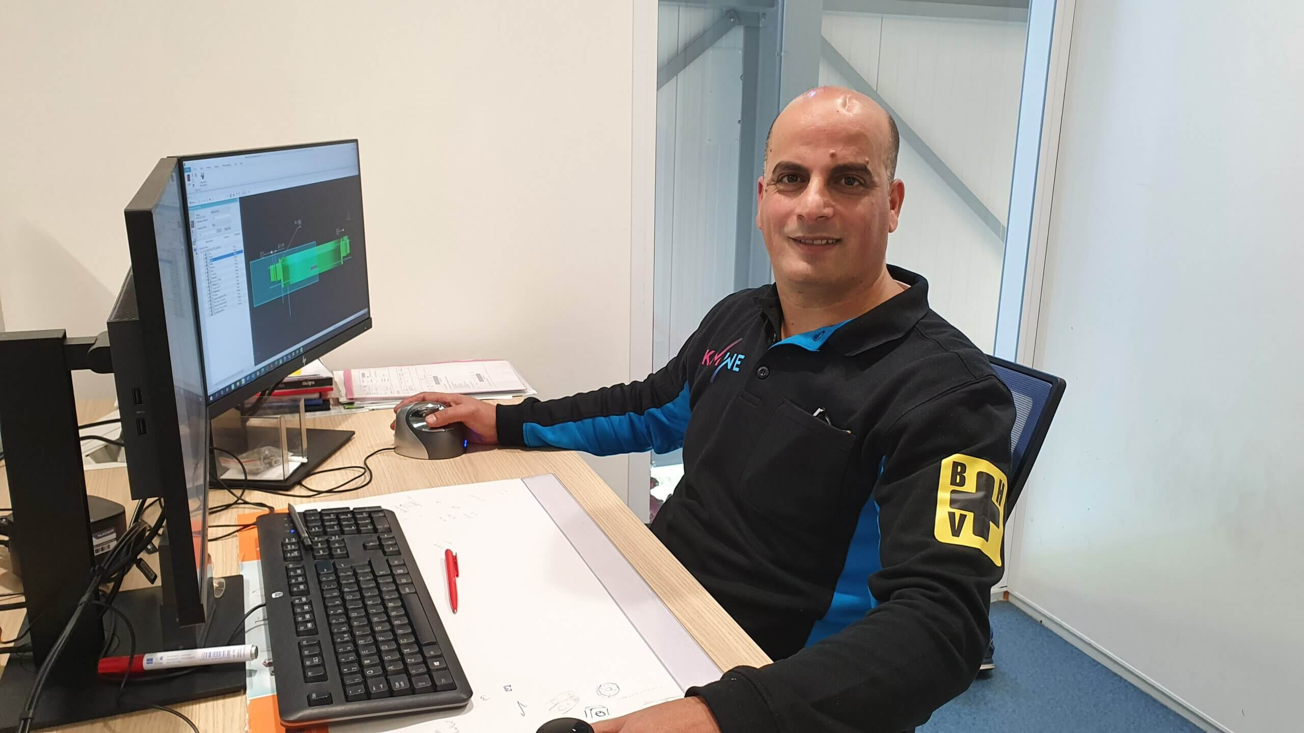Mustapha Doudou is nominated for the Noordhofprijs 2021.