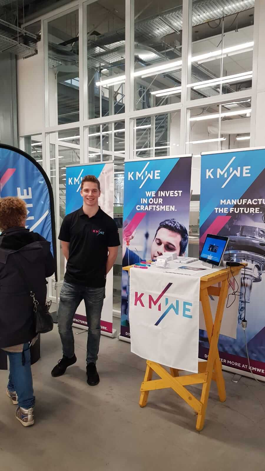 KMWE Group will be present during the open day at Summa College – Technology.