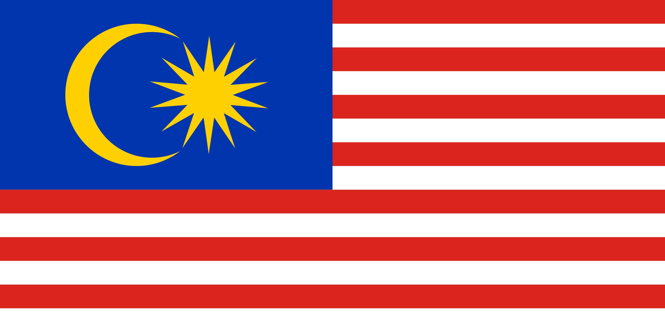 Vlag Maleisie
